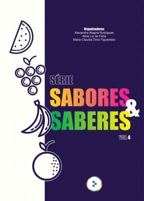 Capa para Sabores & saberes : receitas das Oficinas Culinárias do Centro de Educação Alimentar e Terapia Nutricional