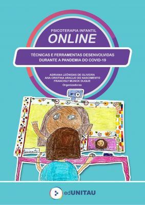 Capa para Psicoterapia infantil online : técnicas e ferramentas desenvolvidas durante a pandemia da COVID-19