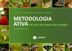 Capa para Metodologia Ativa em aula de campo de Ecologia: manual do professor