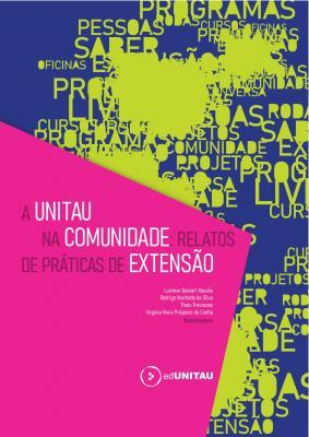 Capa para A  UNITAU na comunidade: relatos de práticas de extensão